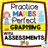 Graphing Activities and Assessments - 1st Grade