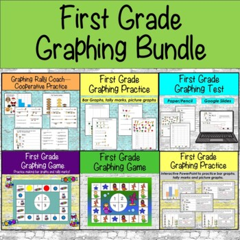 First Grade Graphing Bundle