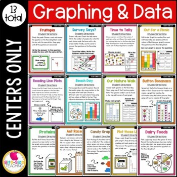 First Grade Graphing Centers