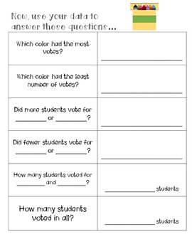 First Grade Graphing Packet