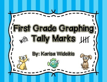 First Grade Graphing With Tally Marks