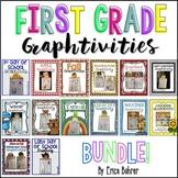 First Grade Craftivity {Graphtivity} Bundle