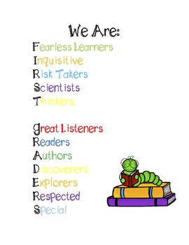 First Grade Growth Mindset Poster