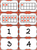 Math Games: Ten Frame 5 and 10 Relationships