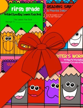 First Grade Guided Reading Super Bundle ~ Must See!