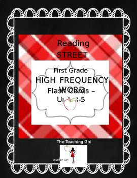 First Grade HFW Flash Card Bundle