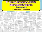 First Grade HM Story Review Sheets - Themes 6-10