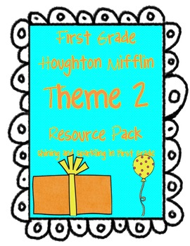First Grade HM Theme 2  Surprise Resource Pack