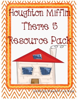 First Grade HM Theme 5 Home Sweet Home Resource Pack