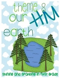 First Grade HM Theme 8 Our Earth Resource Pack