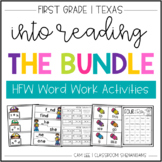 HMH Into Reading 1st Grade: THE BUNDLE!! High Frequency Wo