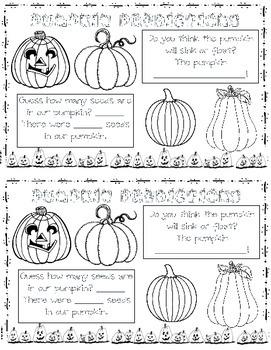 First Grade Halloween Book