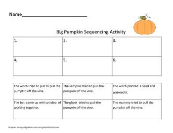 First Grade Halloween Bundle