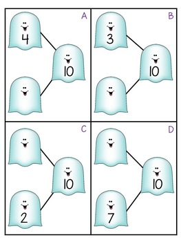 First Grade Halloween Math