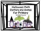 Halloween Math Center and Activities