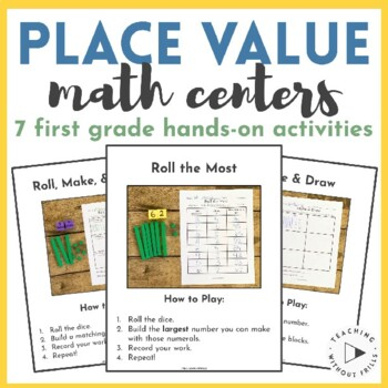 first grade hands on place value practice using base ten blocks. Black Bedroom Furniture Sets. Home Design Ideas