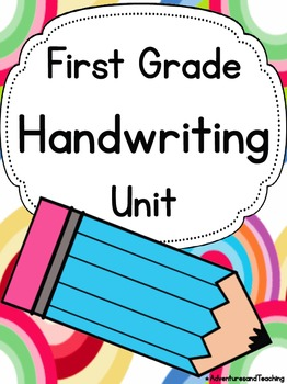 First Grade Handwriting Unit {Sight Words}