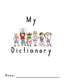 First Grade Handwriting Without Tears Style Dictionary