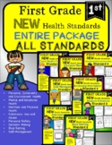 First Grade Health NEW 2021 ALL STANDARDS for Entire Year!
