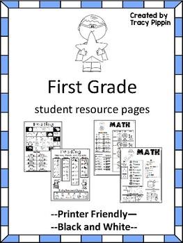 homework first grade
