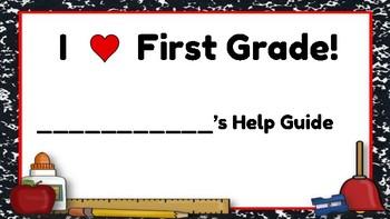 First Grade Help Sheet