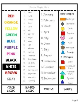 Kinder, First, and Second Grade Homework Assistant / Helper - EDITABLE