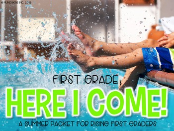 First Grade, Here I Come! {A Summer Packet}