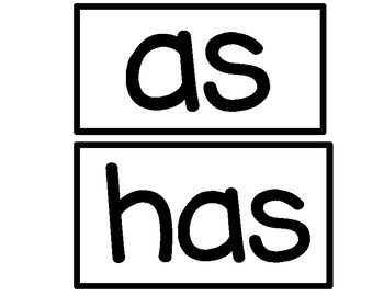 First Grade High Frequency Word Wall Cards