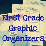First Grade Historical Figures Graphic Organizer Bundle