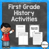 First Grade History Activities