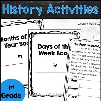 First Grade History Activities