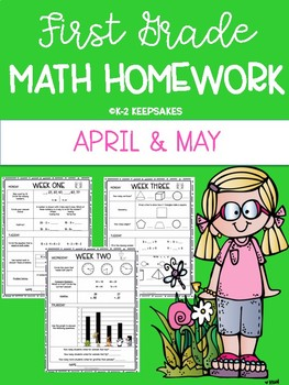 First Grade Homework APRIL/MAY