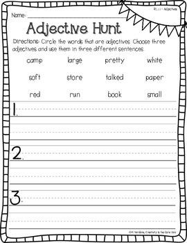 First Grade Homework - Common Core Foundational Skills & Language