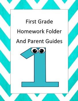 First Grade Homework Folder and Parent Guide