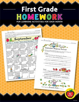 First Grade Homework: Fun Learning Activities for Each Month
