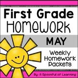 First Grade Homework - May