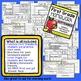 First Grade Homework - September
