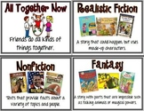 First Grade Houghton Mifflin Reading Series Focus Wall Set - Theme 1