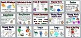 First Grade Houghton Mifflin Reading Series Focus Wall Set-Theme 6
