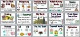 First Grade Houghton Mifflin Reading Series Focus Wall Set-Theme 7
