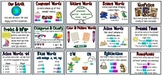 First Grade Houghton Mifflin Reading Series Focus Wall Set-Theme 8