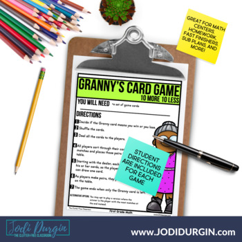 First Grade I CAN STUDENT CHECKLIST for Common Core Math Standards 1st grade