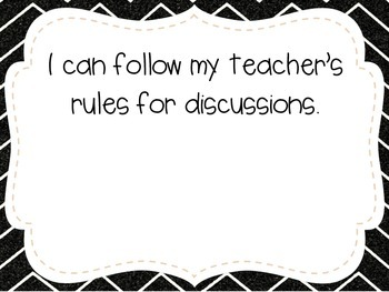 """First Grade """"I Can"""" Statements LAFS & Common Core Speaking & Listening"""