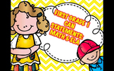 First Grade I Can Statements-Math and ELA