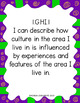 "First Grade ""I Can"" Statements for KY NEW Revised Social Studies Standards"