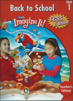 First Grade Imagine It Unit 1 Lesson Plans and Resources