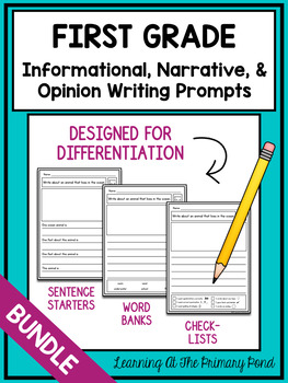 In this post, get my 5 top tips on how to teach writing prompts in your Kindergarten, 1st grade, and 2nd grade classrooms.
