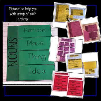 First Grade Interactive Grammar and Writing Notebook!