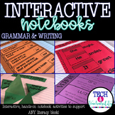 First Grade Interactive Grammar and Writing Notebook!