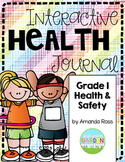 First Grade Interactive Health Journal {Now Editable!}